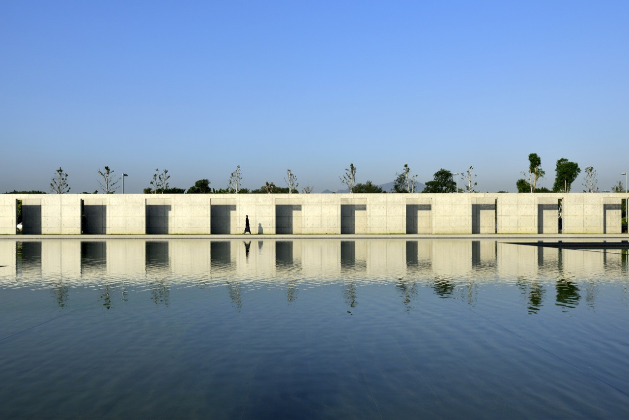 Gallery of water moon monastery artech architects 6 for Moon architecture
