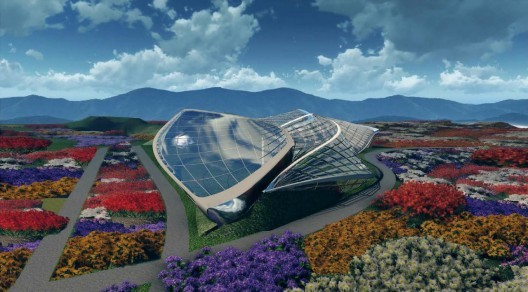 Horticulture Expo in Qingdao, China, by HKS Architects. Although HKS is the 37th largest firm on the list, it was among the top 5 most efficient firms, earning over $500,000 per employee this year. Image courtesy of HKS Architects.
