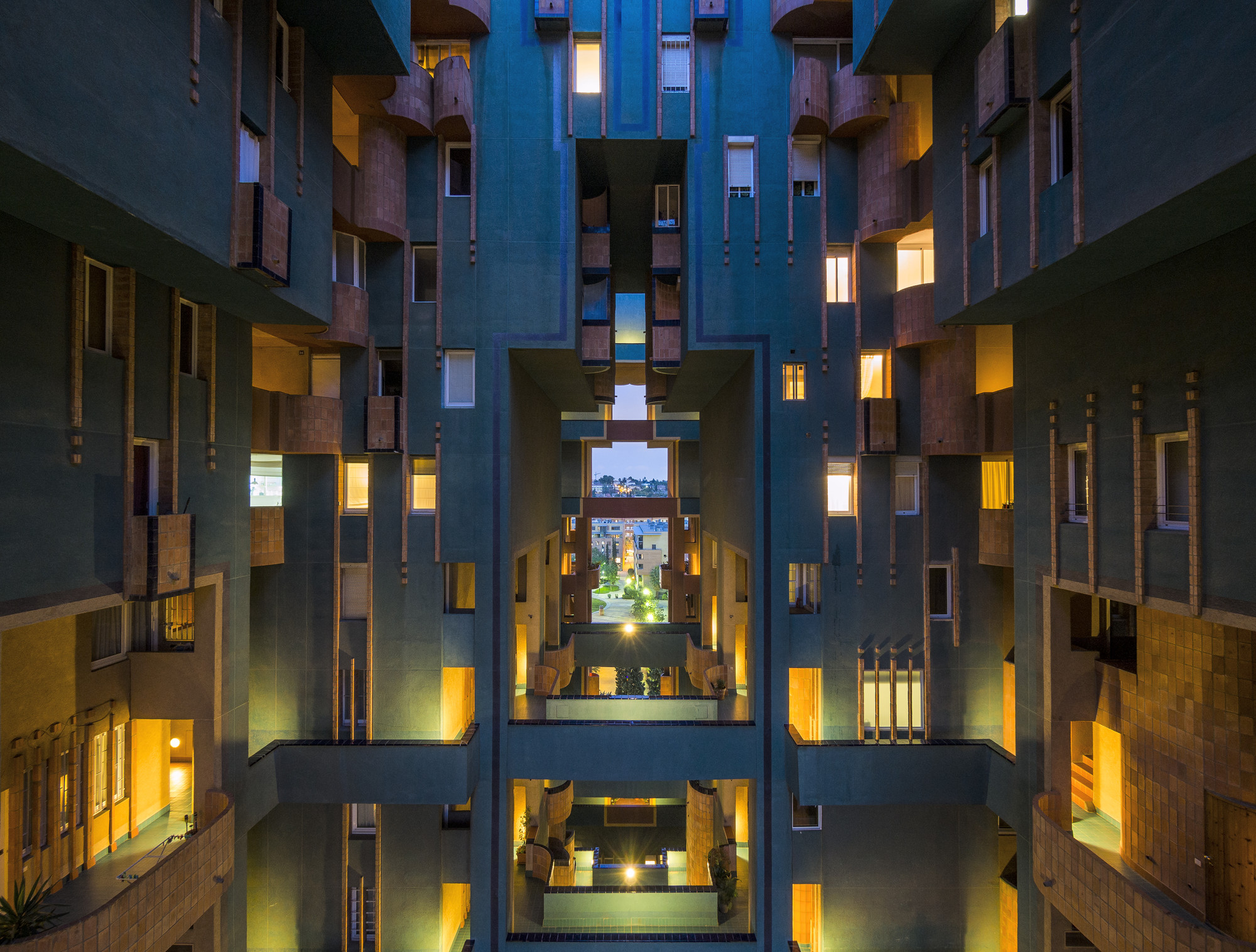 Clásicos de Arquitectura: Walden 7 / Ricardo Bofill, © Ricardo Bofill