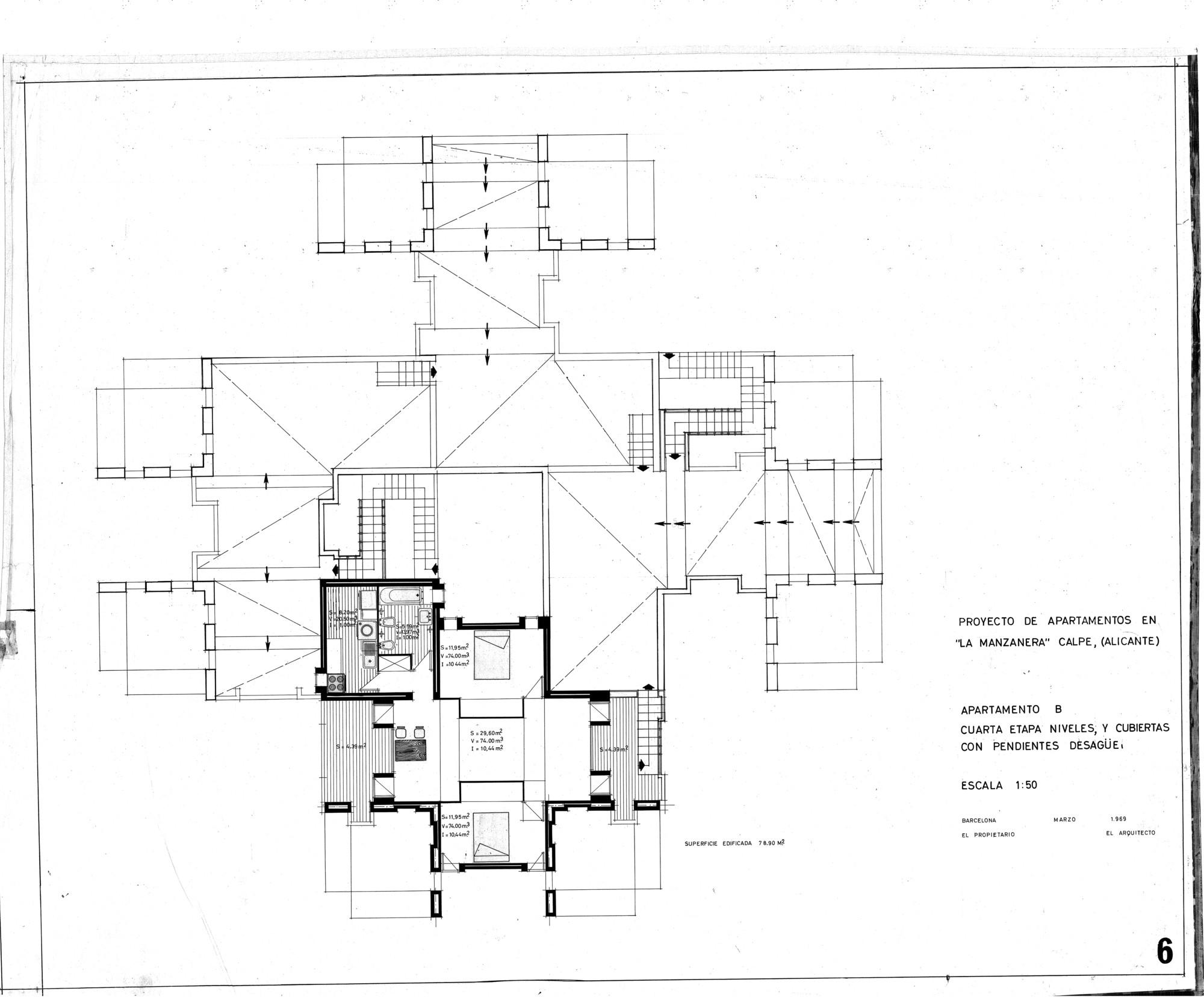 Gallery of ad classics la muralla roja ricardo bofill 24 for Plan de arquitectura