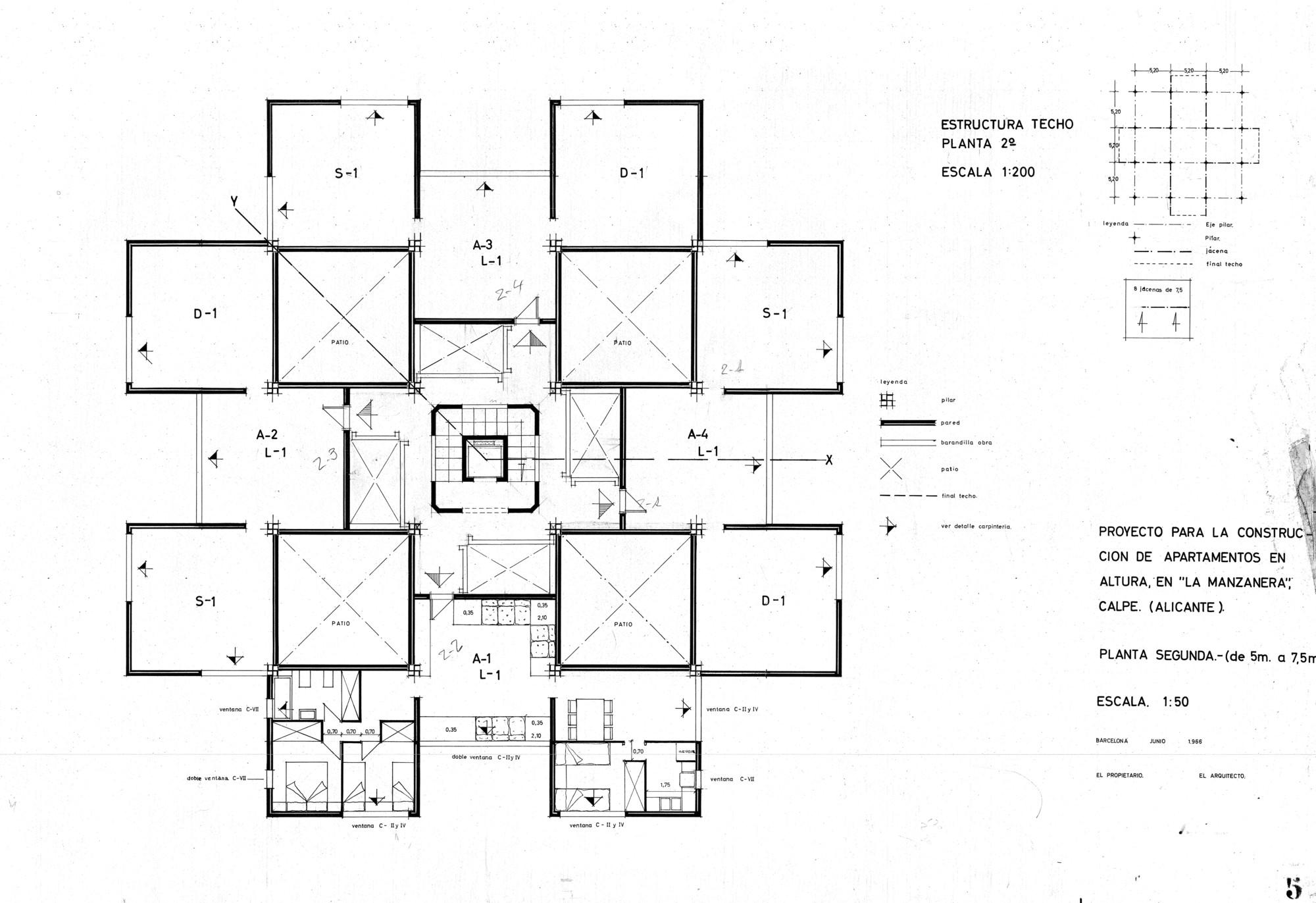 Gallery of ad classics xanad ricardo bofill 16 for Plan de arquitectura