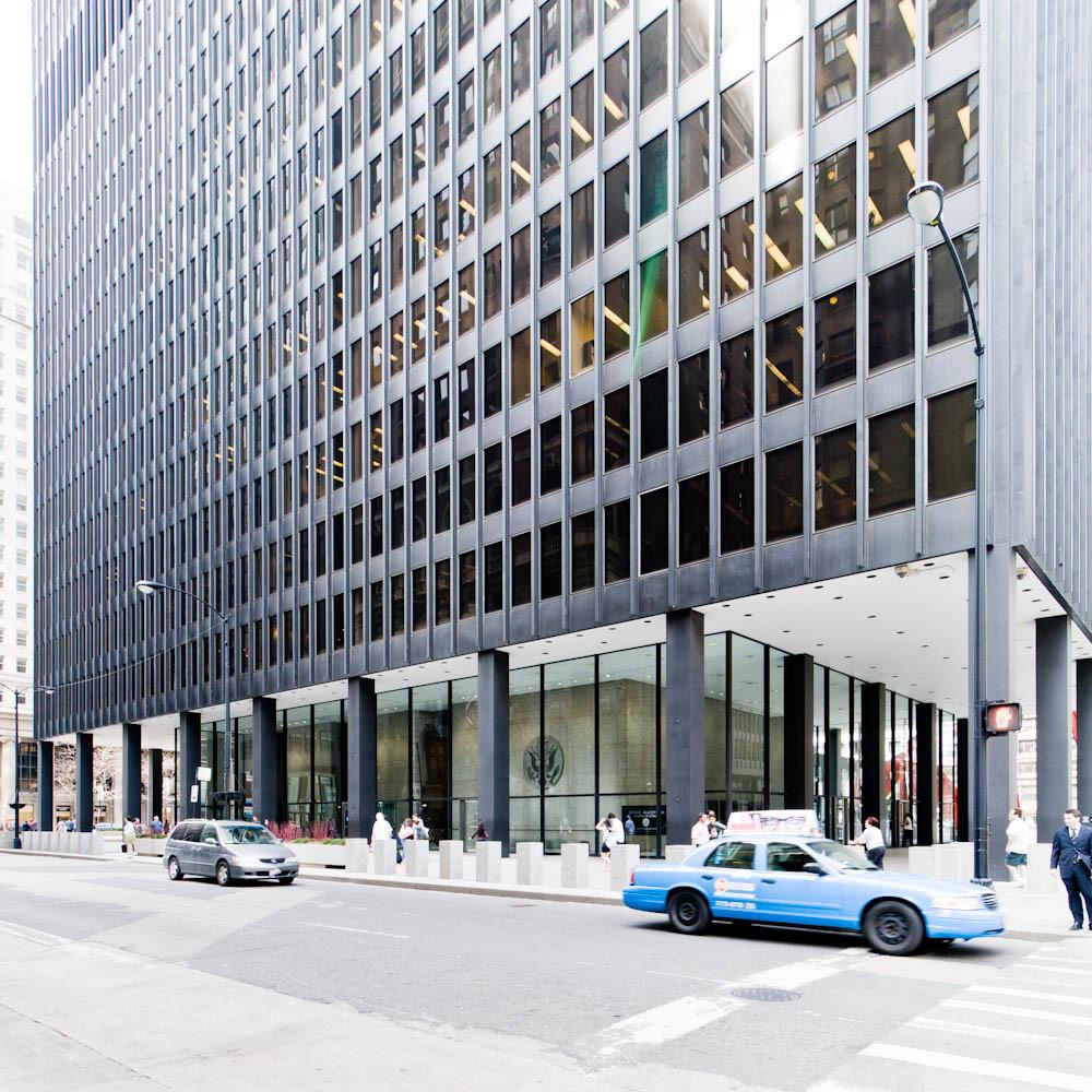 AD Classics: Chicago Federal Center / Mies van der Rohe