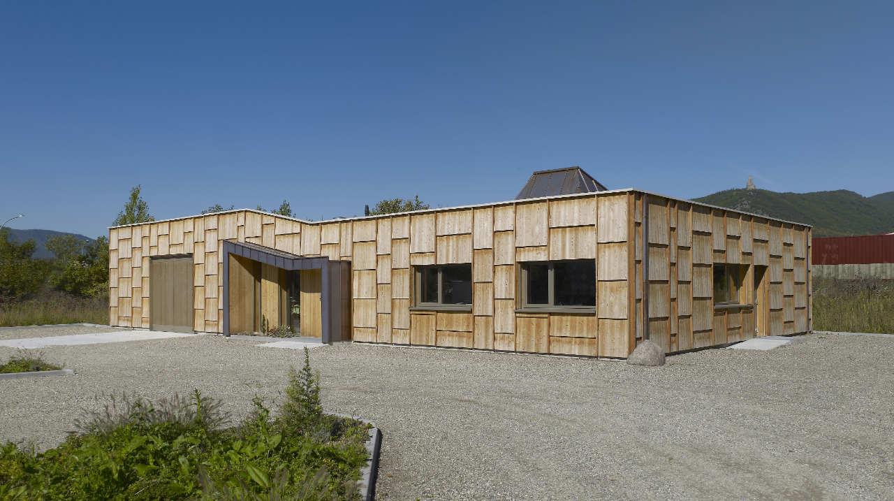 Casa de Madera en Châtenois / Atelier d.org, © Stéphane Spach