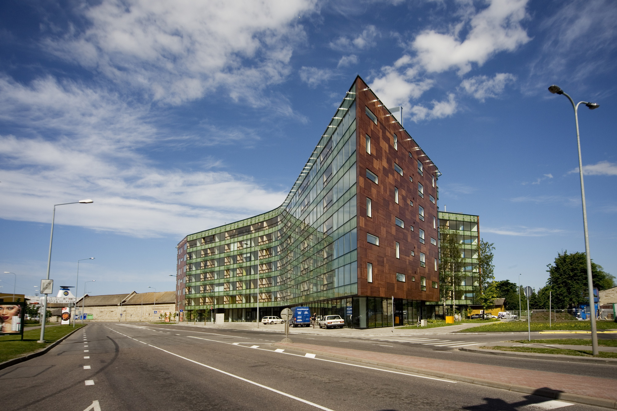Apartment Building in Lootsi Street / HGA (Hayashi-Grossschmidt Arhitektuur), © Kalle Veesaar