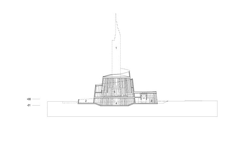 Arkitektur arkitektur sketch : Gallery of Cathedral of the Northern Lights / SHL Architects + ...