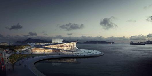 Busan Opera House / Propuesta Ganadora / Snøhetta