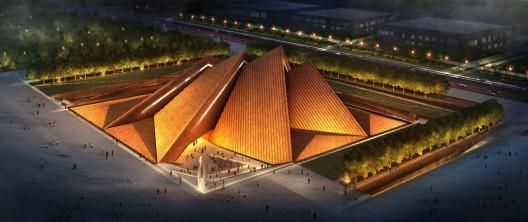 Museo de Arte Datong / diseño entregado por Foster + Partners