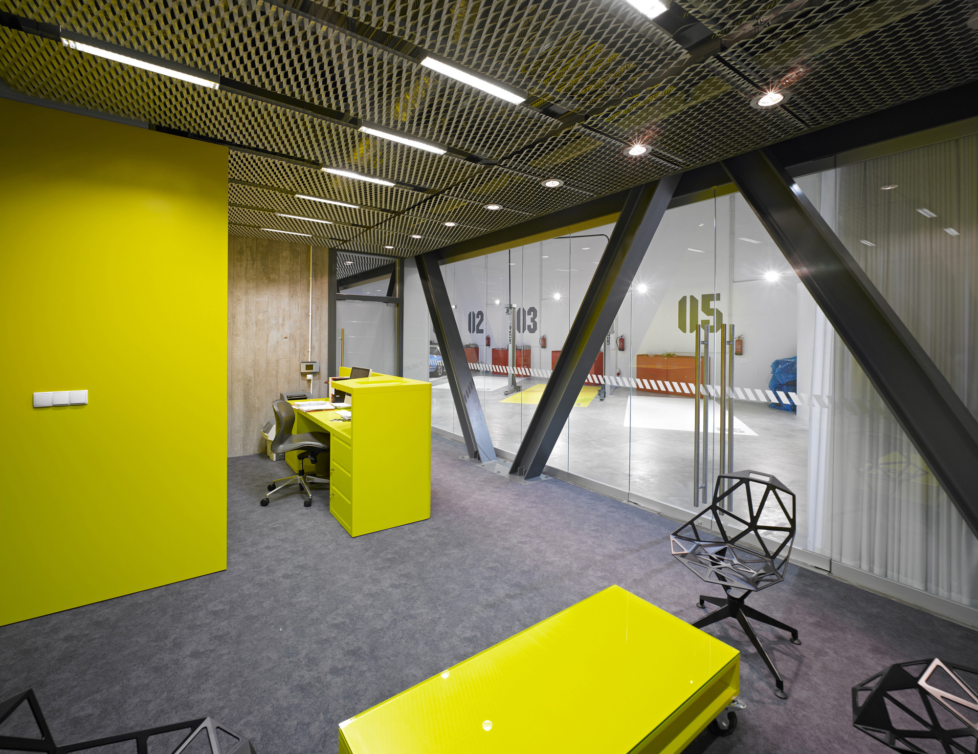 Office garage ultra architects archdaily