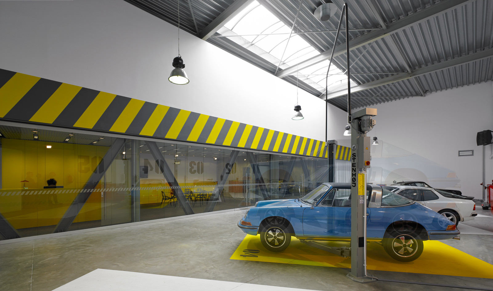 gallery of office garage ultra architects 3