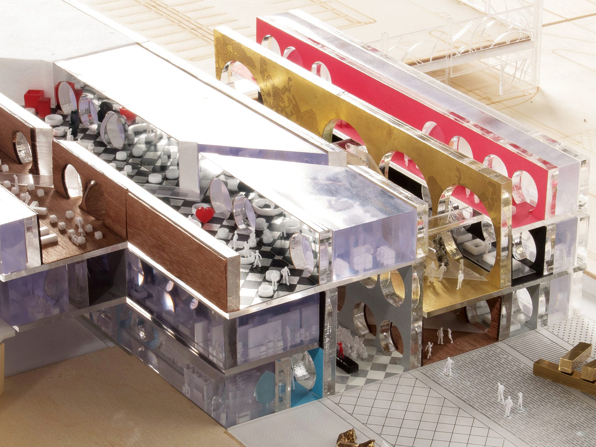 Exhibition Hall D Model : Gallery of the exhibition hall oma