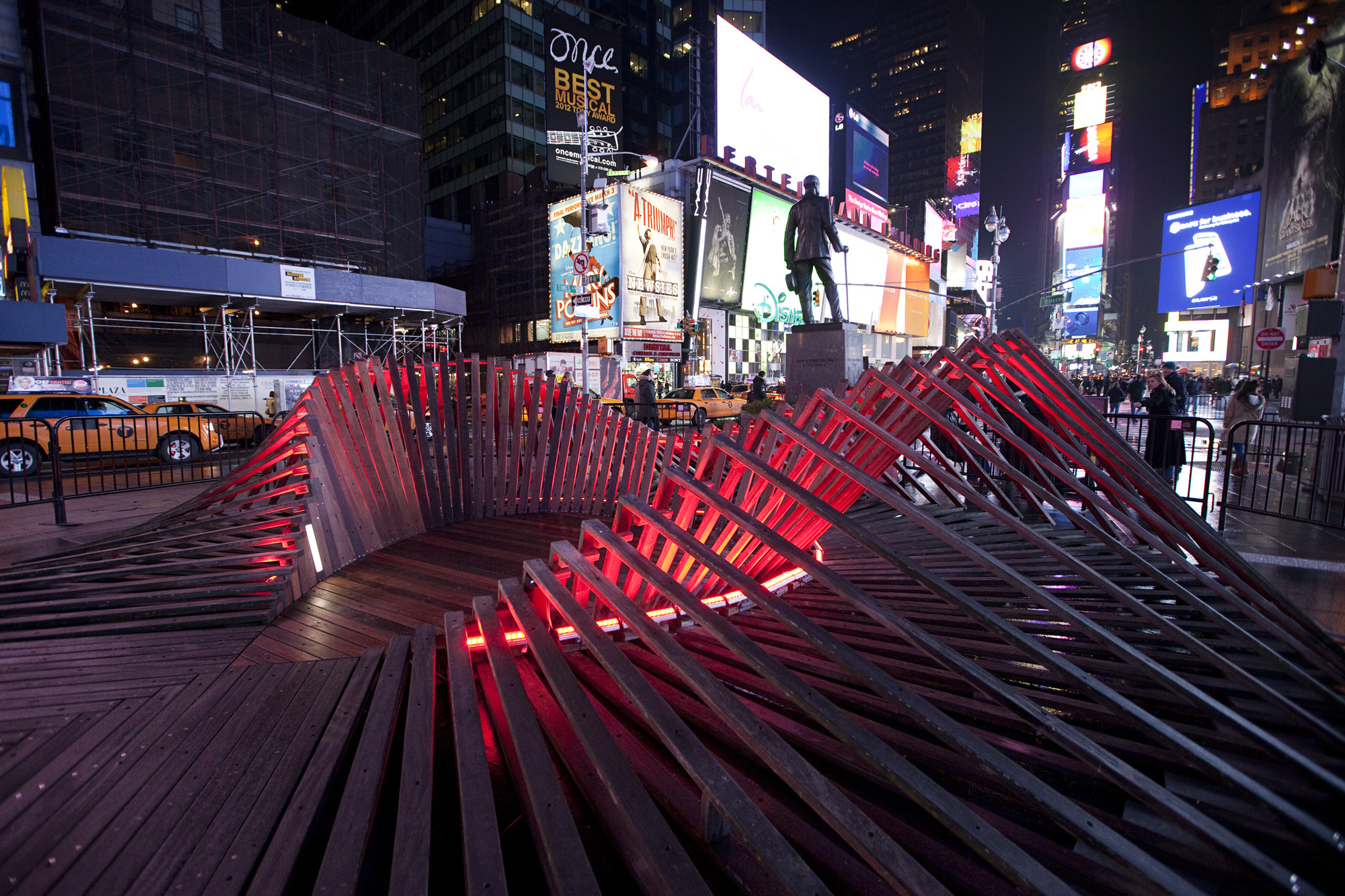 Situ Studio's 'Heartwalk' Opens in Times Square