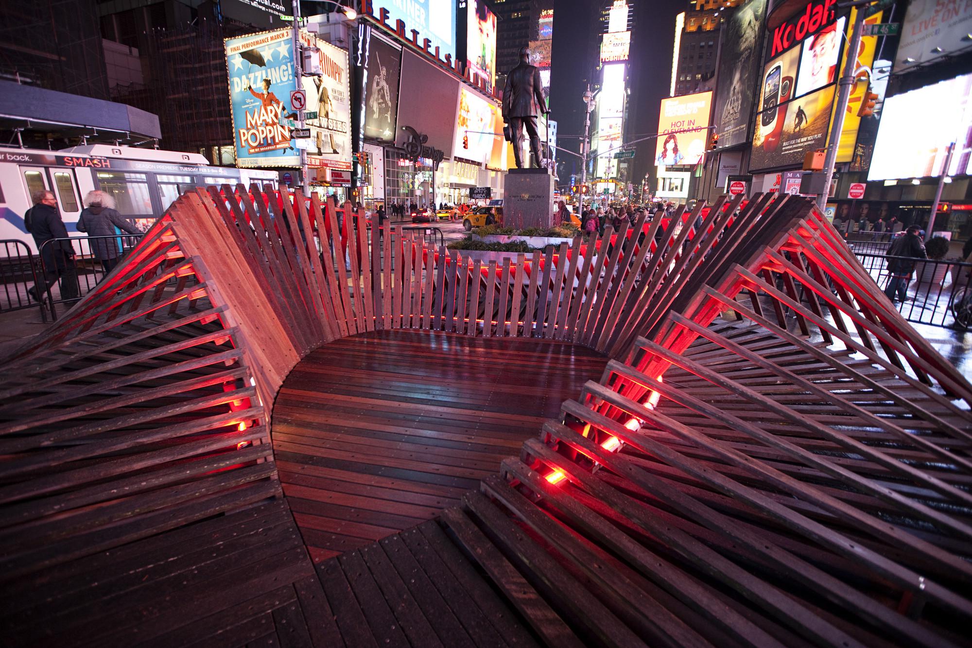 Situ Studio's 'Heartwalk' Opens in Times Square