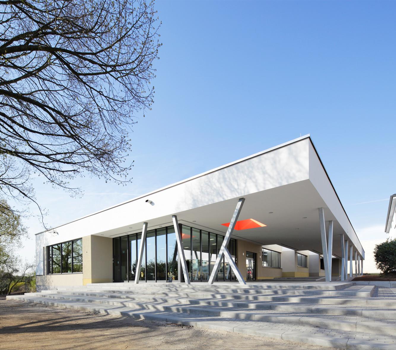 Friedrich-Ebert-Schule / kreiling rosner architekten, © Ralf Heidenreich