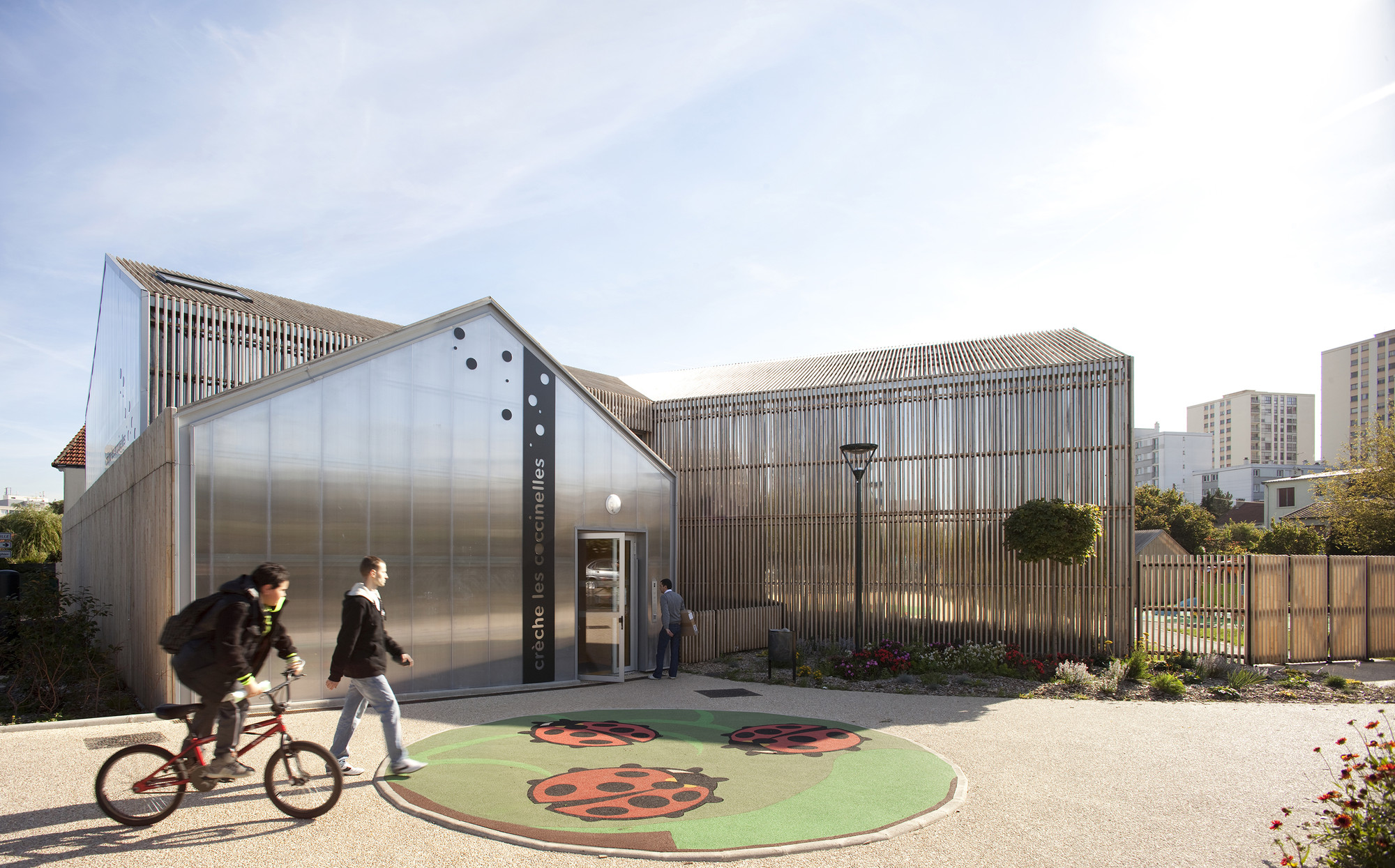 Les Coccinelles Nursery School / SOA Architectes, © Clément Guillaume