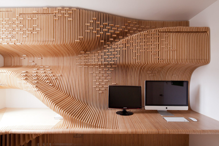 Chelsea Workspace by Synthesis Design + Architecture. Photo, Peter Guenzel