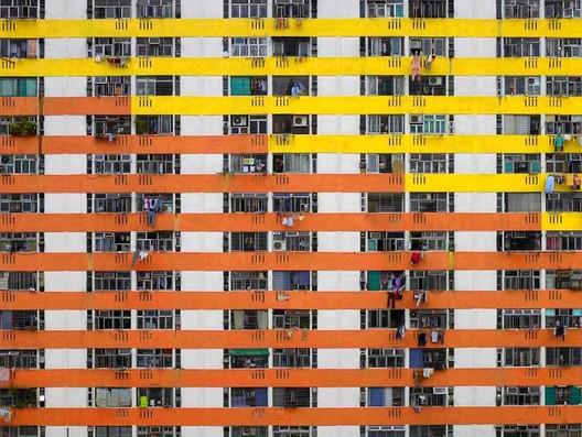 Fotógrafo Michael Wolf registra la vida claustrofóbica de las ciudades de Hong Kong, © Michael Wolf