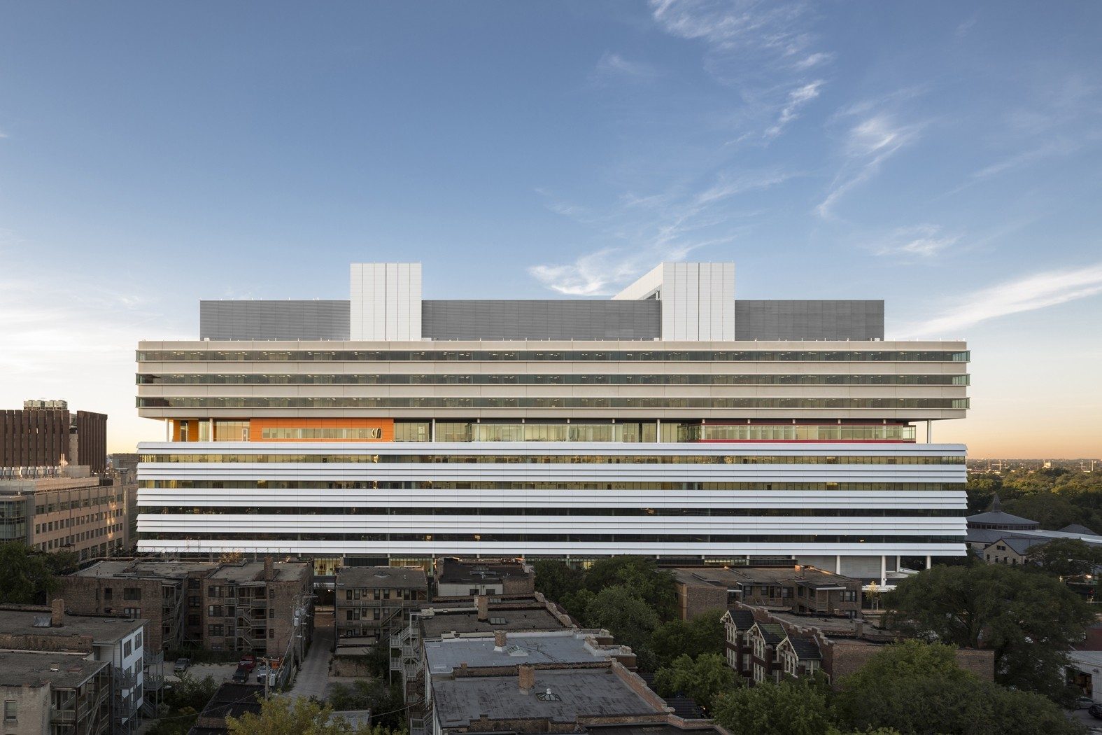 Center for Care and Discovery, University of Chicago Medicine / Rafael Viñoly Architects, © Tom Rossiter