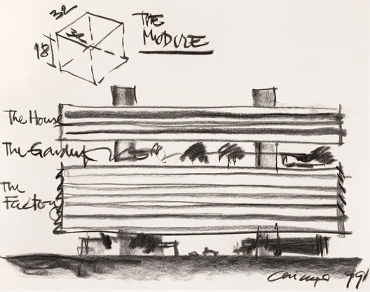 Sketch Courtesy of Rafael Vinoly Architects