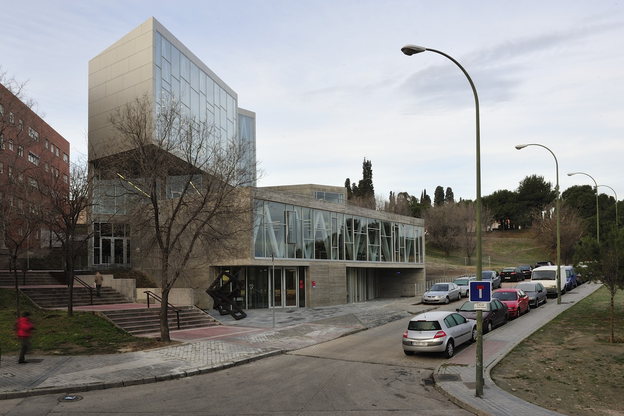 Public library Ana María Matute / RSP arquitectos, © Alfredo Arias
