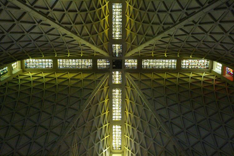 Clásicos de Arquitectura: Catedral de Santa Maria de Asunción / Pier-Luigi Nervi & Pietro Belluschi, © Liao Yusheng