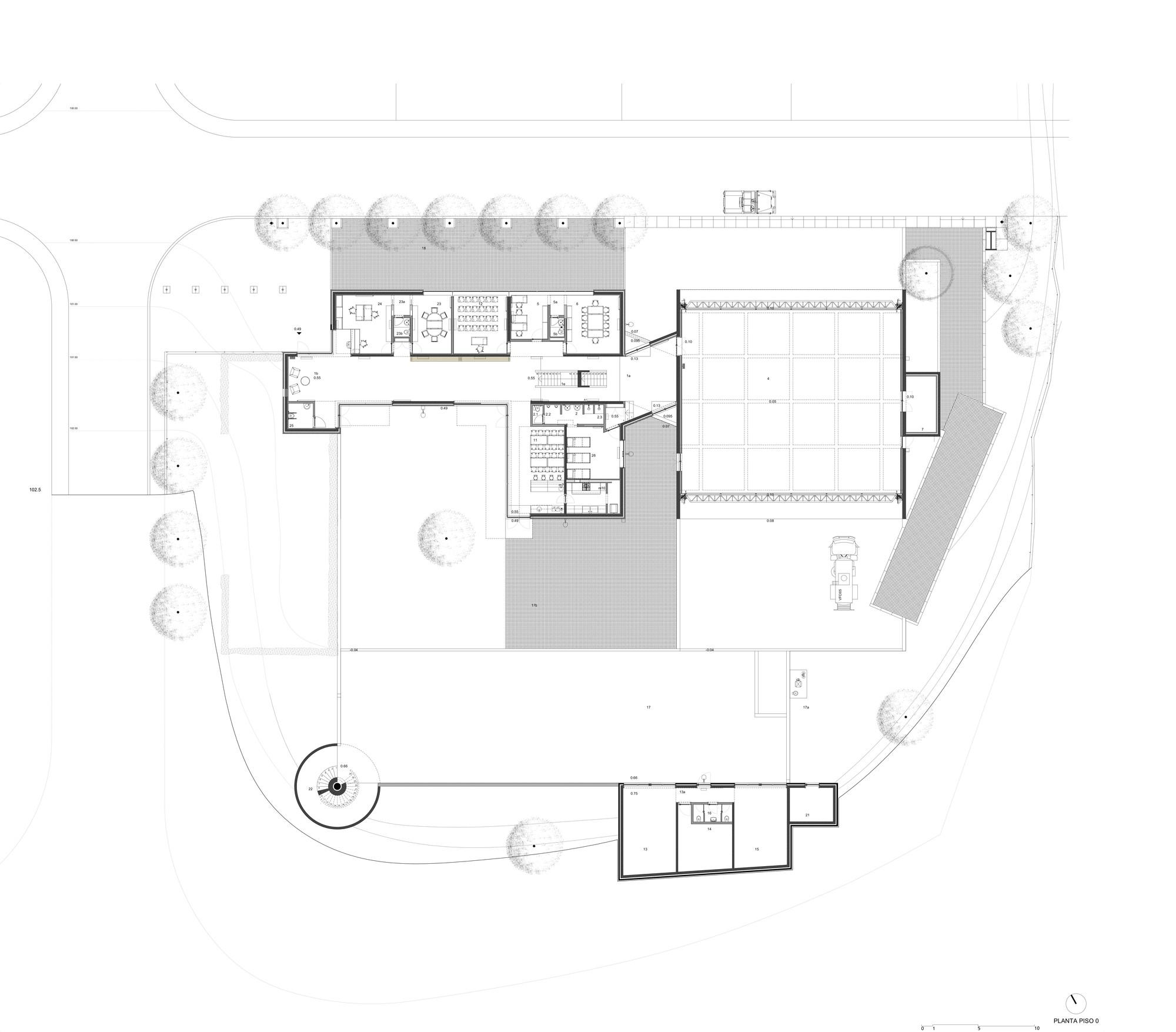 The Metz Floor Plan Gallery Of Fire Station In Santo Tirso Alvaro Siza 38