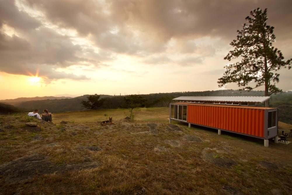 Archivo: Arquitectura con Containers, © Andrés García Lachner