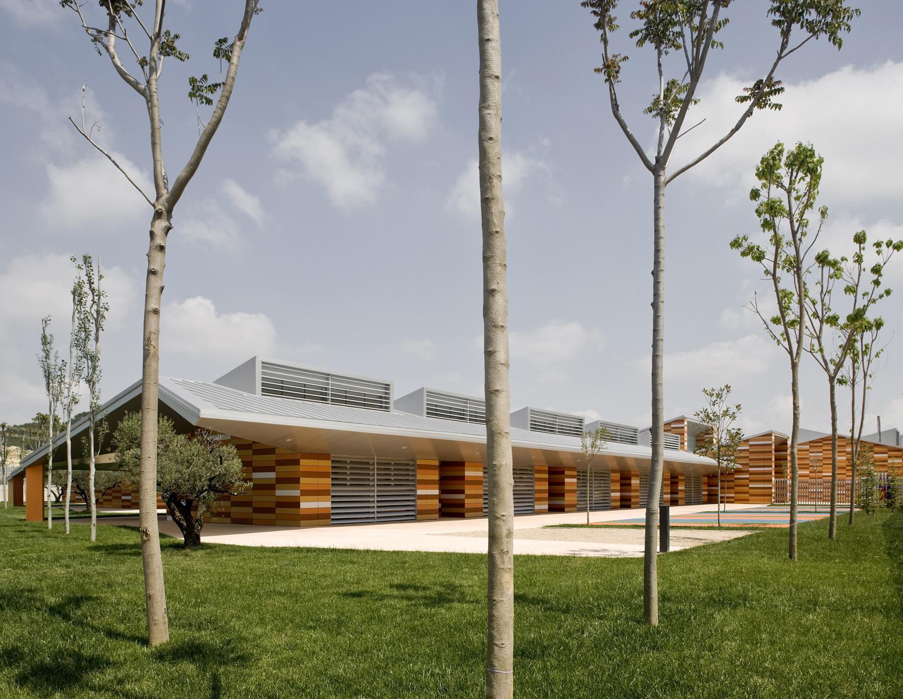 Parque Goya Kindergarten / Magén Arquitectos, © Pedro Pegenaute