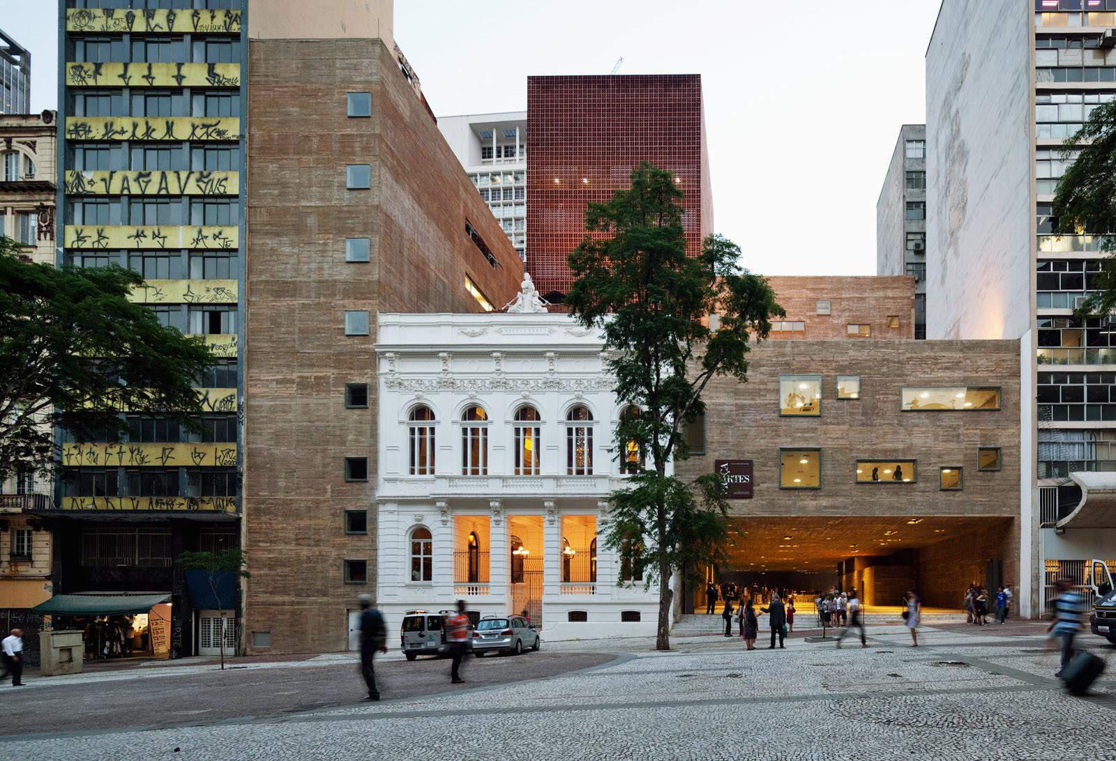 Praça das Artes  / Brasil Arquitetura, © Nelson Kon