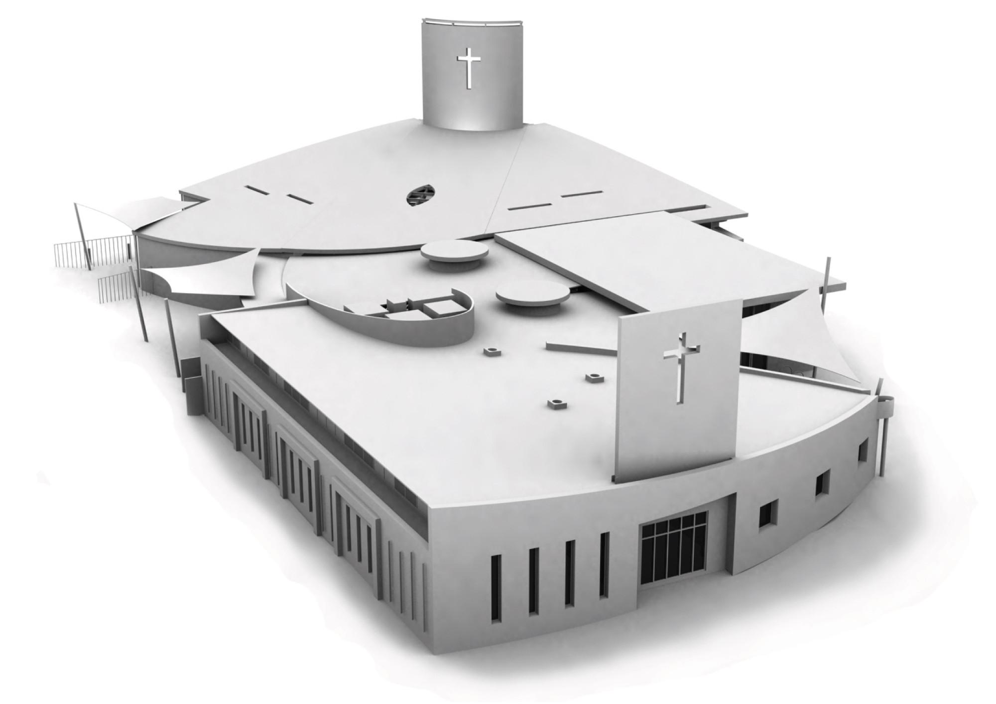 St Alfred's Church  / Studio B Architects