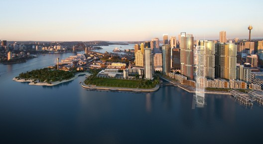 Artist impression for Barangaroo Central's current master planning competition (click image for more) © Barangaroo Delivery Authority