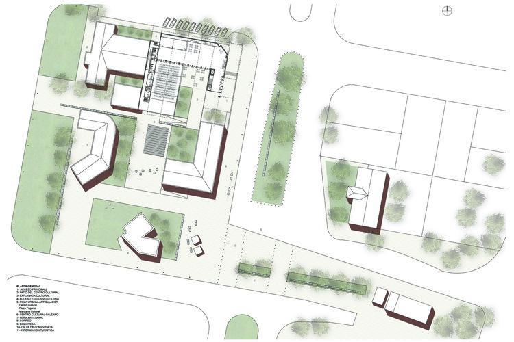 Vencedor do concurso centro cultural el bols n atv for Biblioteca programa arquitectonico