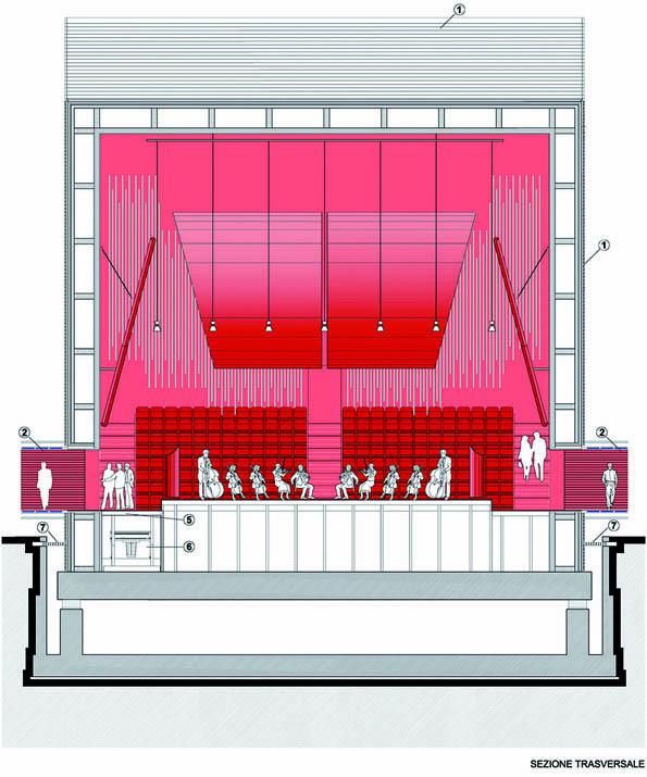 Renzo Piano Designs a Flat-Pack Auditorium for L'Aquila