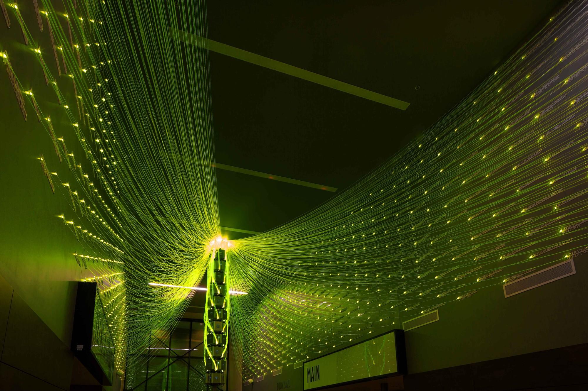 Proyecto de Iluminación: Mente de Filamento por E/B Office, © David Agnello Photography