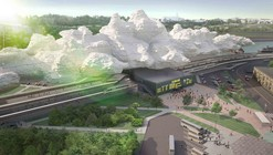 'Under the Cloud' Railway Station Proposal / Arthur Kupreychuk