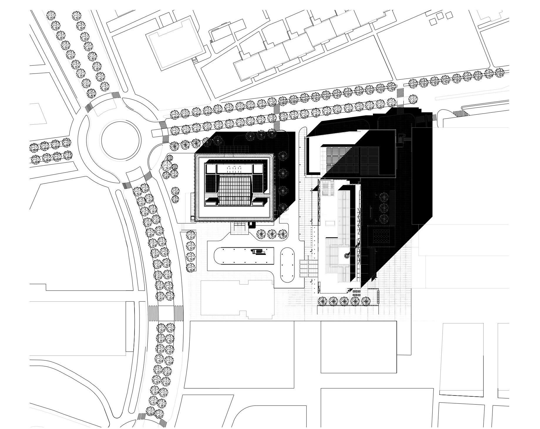 City Green Court / Richard Meier & Partners