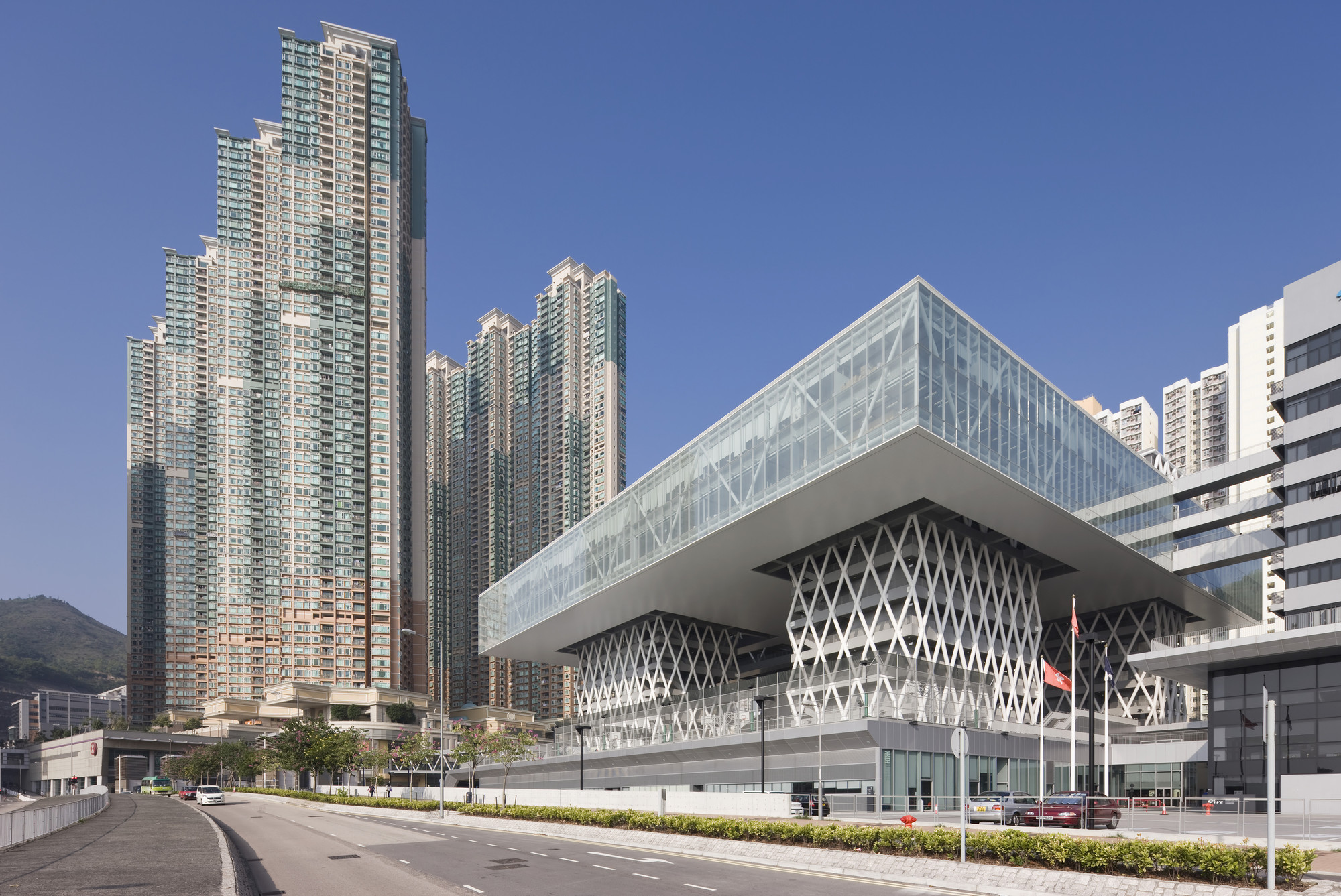 Hong Kong Institute Of Design Caau Archdaily