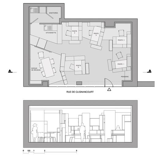 Floor Plan & Section