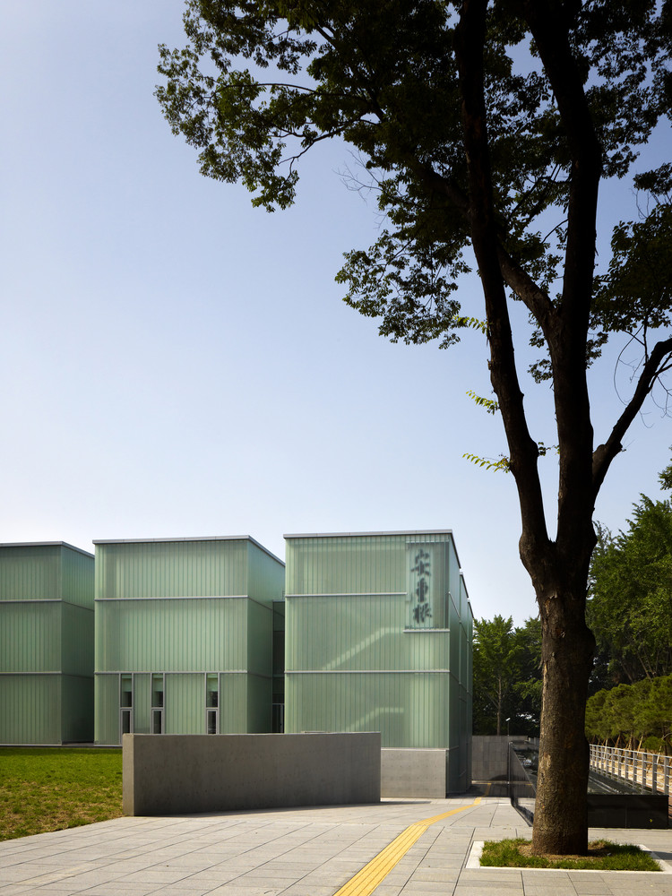 Ahn Jung-geun Memorial Hall  / Yeonghwan Lim + Sunhyun Kim