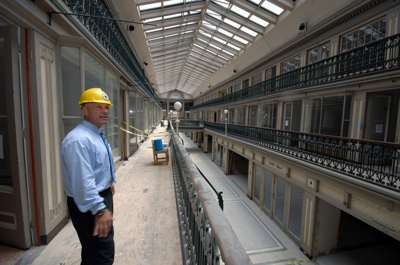 Refurbishing America's Shopping Mall, The Arcade Providence © PBN/Brian McDonald via PBN