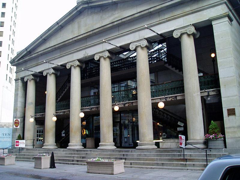 The Westminster Arcade via Wikipedia