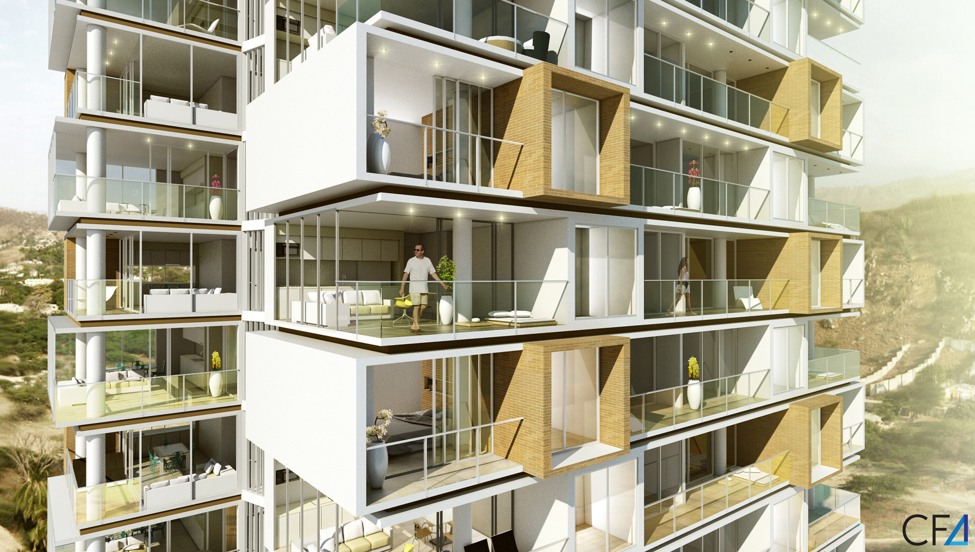 Primer lugar proyecto puerto salguero lgn arquitectos for Vivienda arquitectura