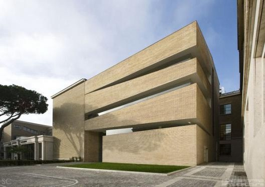 Ampliación Biblioteca y Restauración Aula Magna Pontificia Università Lateranense -  King Roselli Architetti / King Roselli Architetti, © Santi Caleca