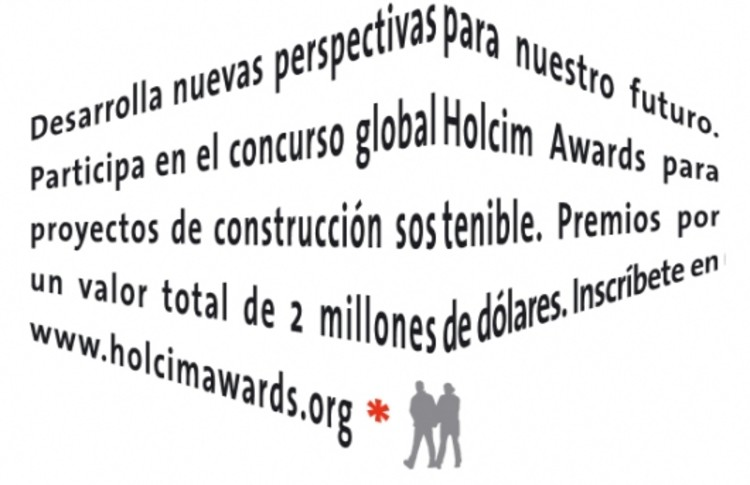 Últimos días del Concurso de Proyectos Sostenibles Holcim Awards / , © Unknown photographer