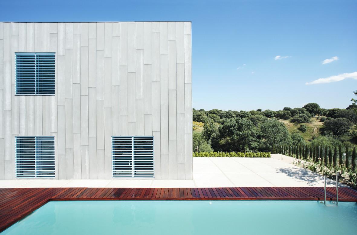 Casa en las rozas madrid juan herreros arquitectos - Arquitectos en espana ...
