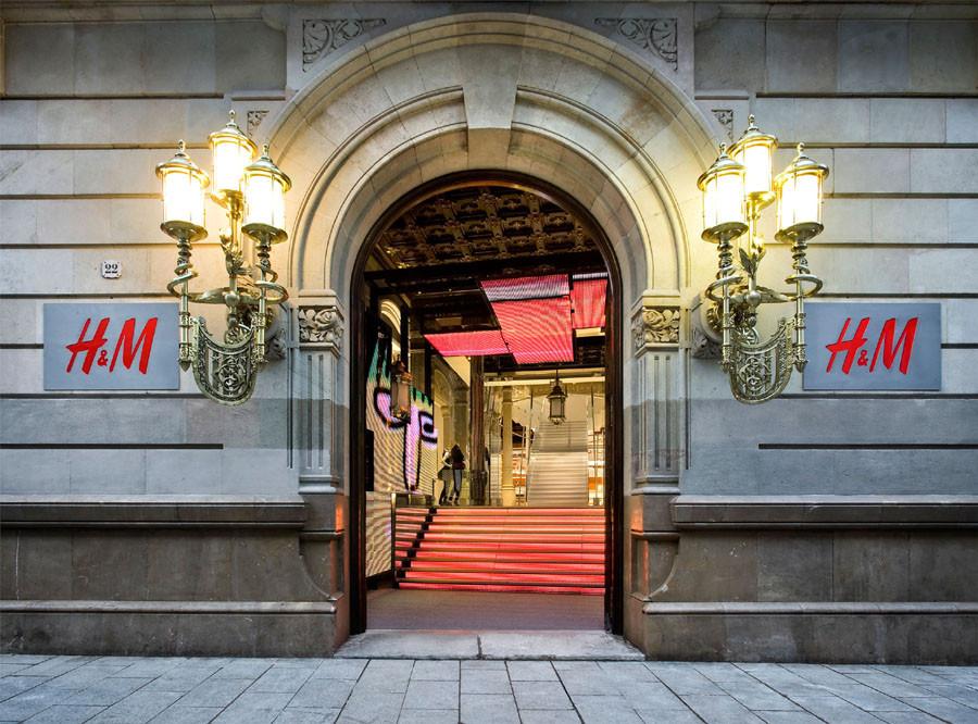 Tienda H&M Barcelona / Estudio Mariscal