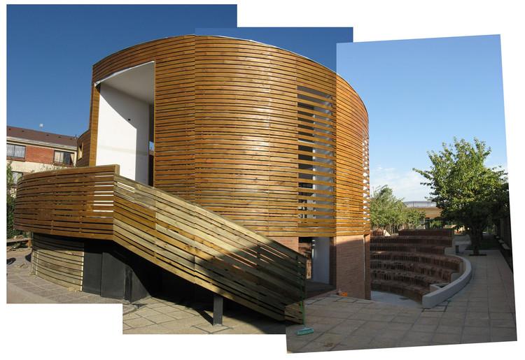 Pabellon Talleres de Arte, Colegio Altazor - 332 Arquitectos / 332arquitectos, Cortesía de 332arquitectos