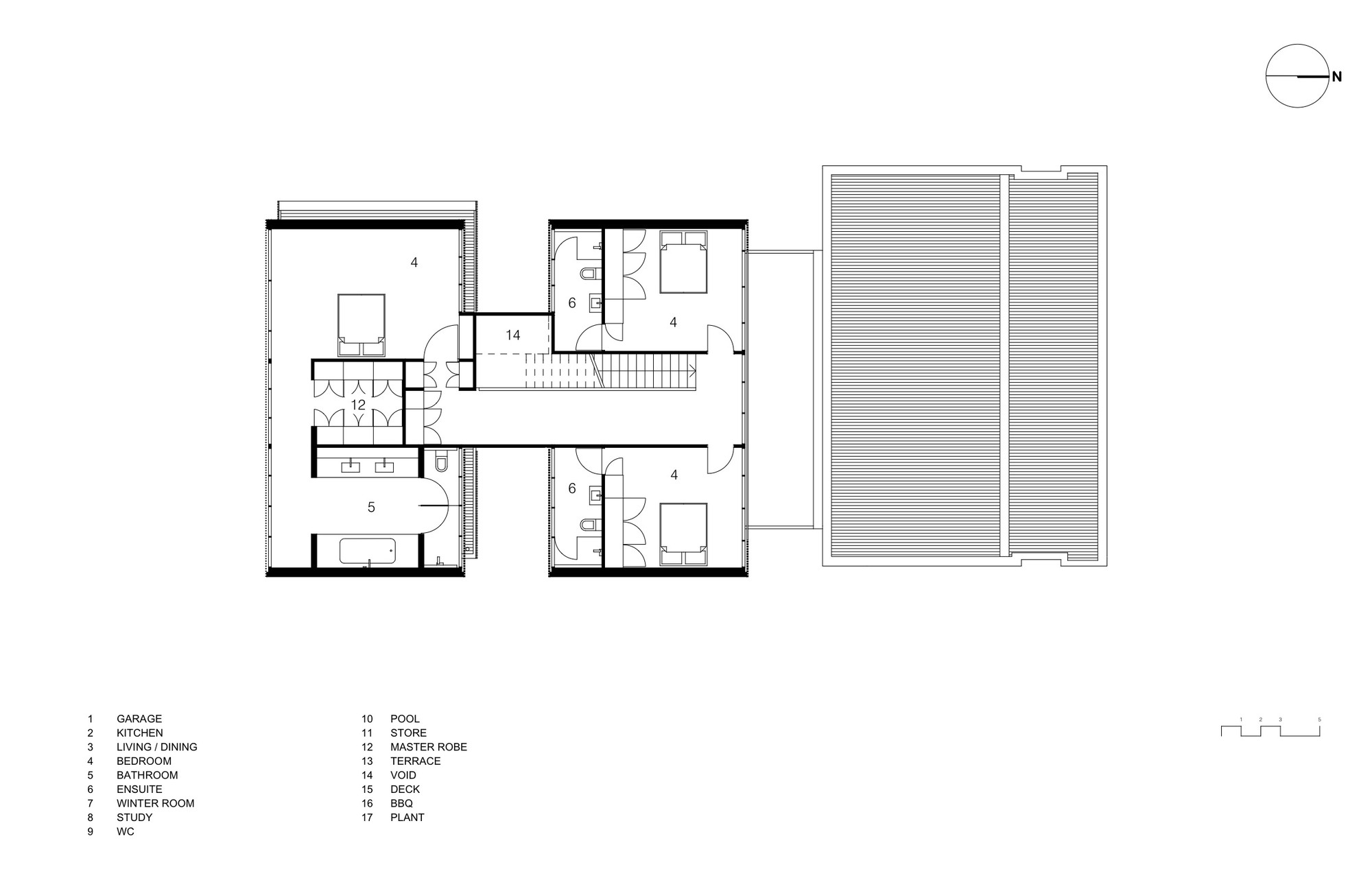 gallery of torquay house wolveridge architects 28 torquay house first floor plan
