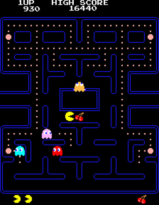 Tōru Iwatani (Japanese, born 1955) of NAMCO LIMITED, now NAMCO BANDAI Games Inc. Pac-Man. 1980. Gift of NAMCO BANDAI Games Inc. Image courtesy of NAMCO BANDAI Games Inc.