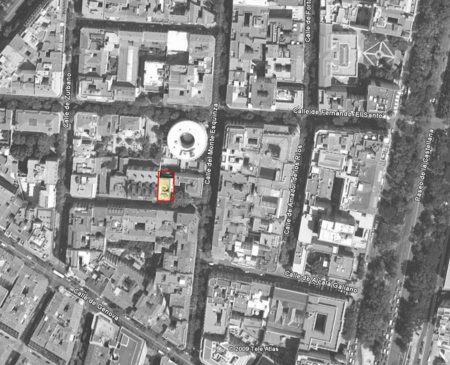 Galer a de 4 viviendas local y garaje calle orfila - Arquitectos madrid 2 0 ...