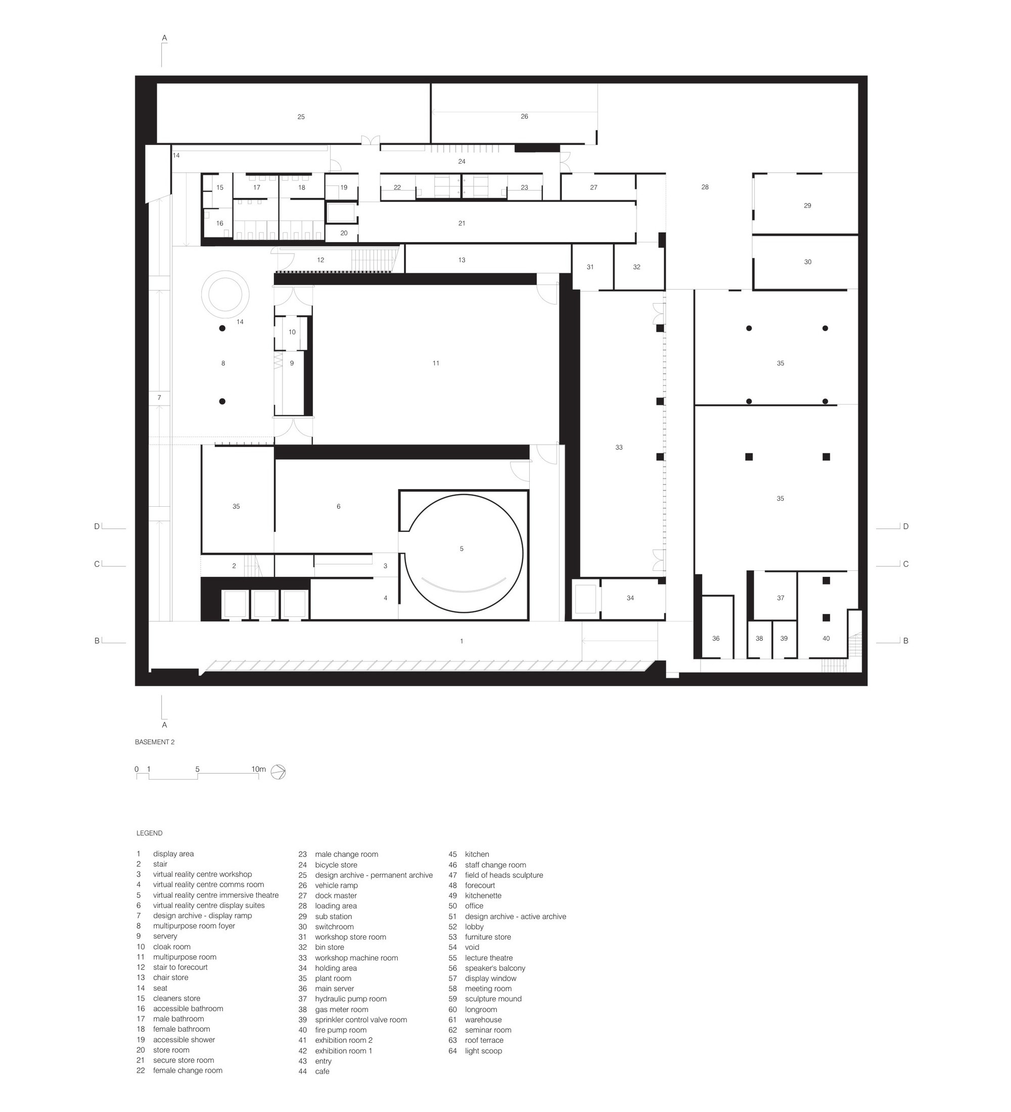 Basement 02 Floor Plan